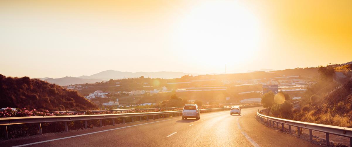 Guía Málaga, Transporte en coche