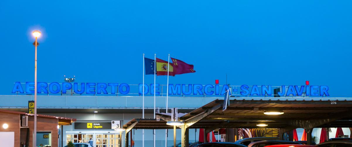 Guía Murcia, Aeropuerto San Javier