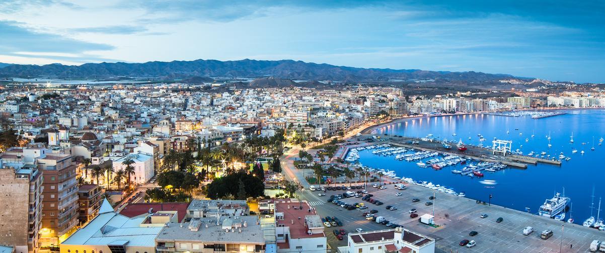 Guía Murcia, Águilas