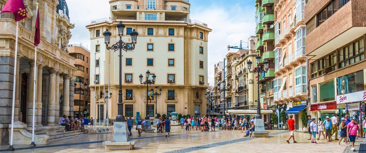 Guía Murcia, Plaza de Cartagena