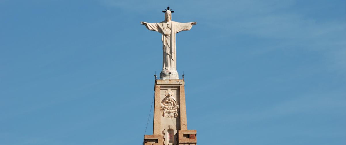 Guía Murcia, Cristo de Monteagudo
