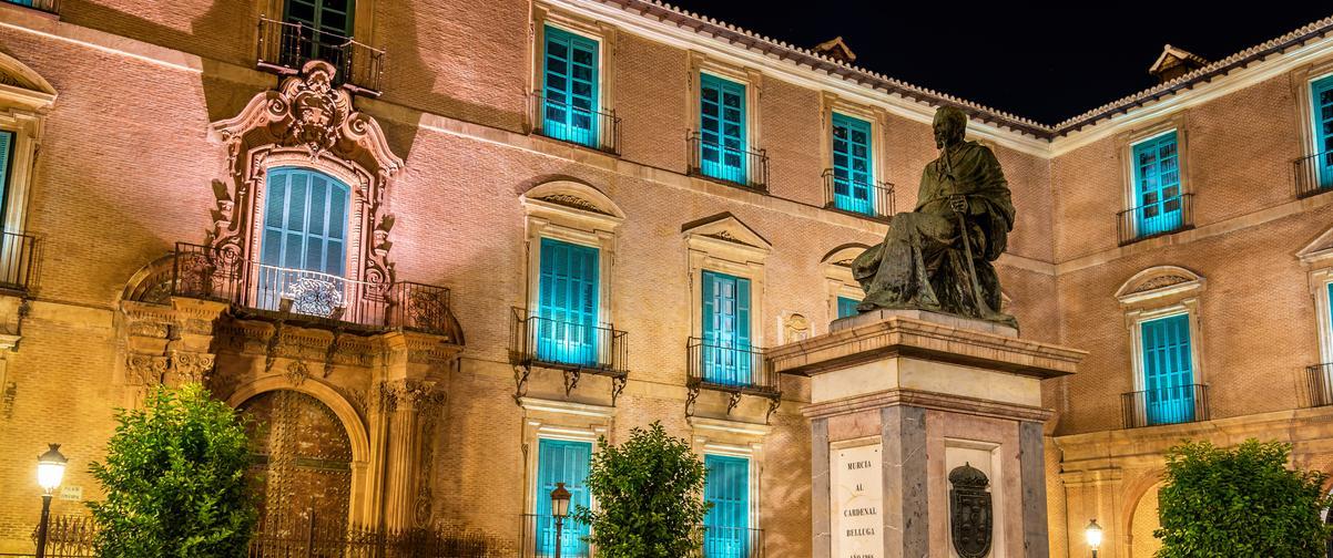 Guía Murcia, Monumento Cardenal Belluga