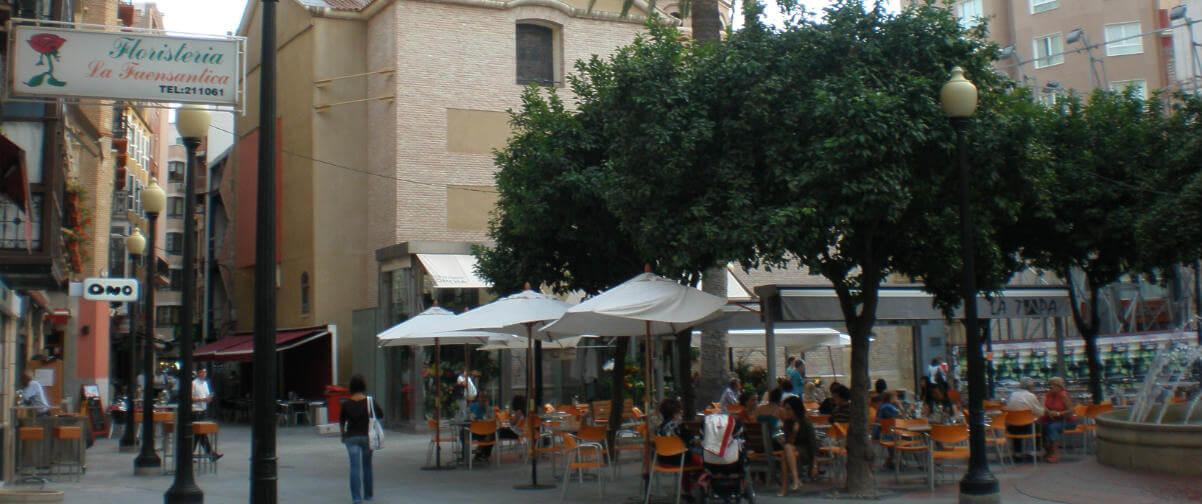 Guía Murcia, Plaza de las flores