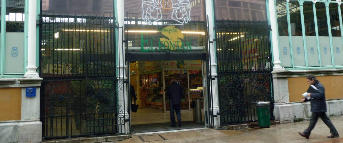 Guía Oviedo, Mercado El Fontán