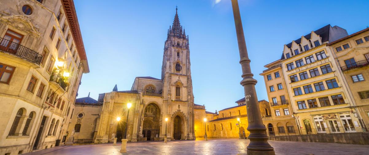 Guía Oviedo, Plaza de la Catedral