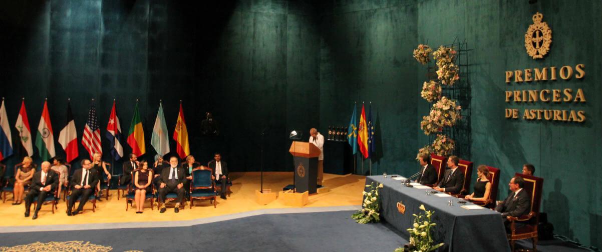 Guía Oviedo, Premio Princesa de Asturias