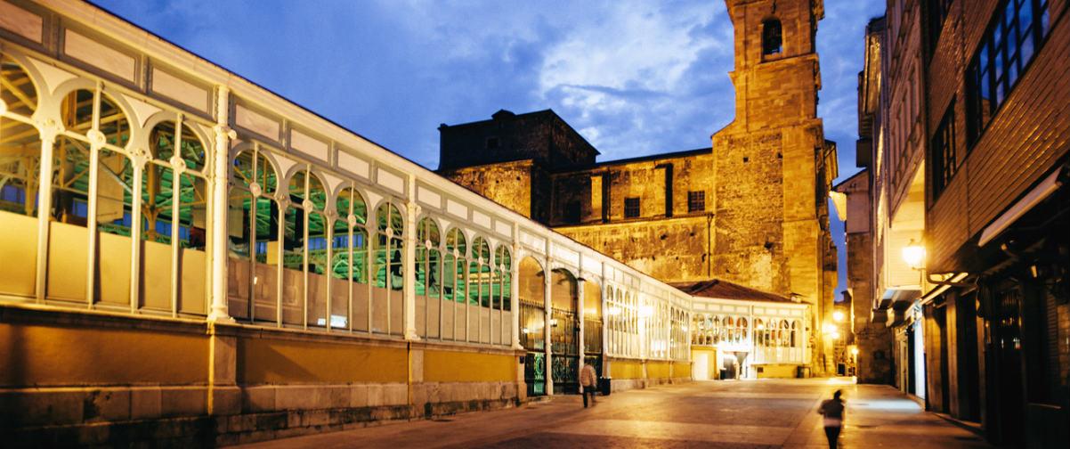 Guía Oviedo, Vista nocturna de la ciudad