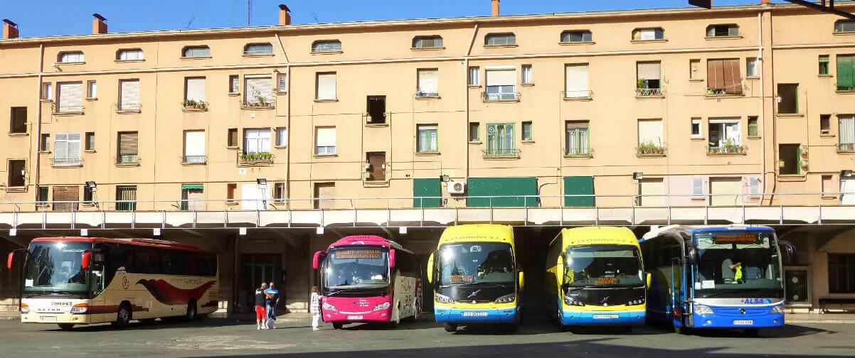 Guía La Rioja, Estación de autobuses