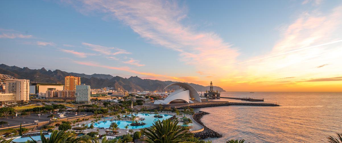 Guía Tenerife, Panorámica de la ciudad