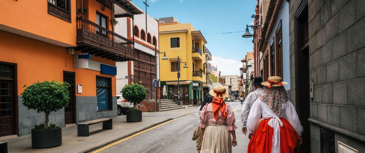 Guía Tenerife, Traje local Tenerife