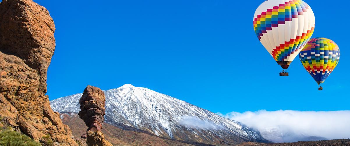 Guía Tenerife, Panorámica del Teide