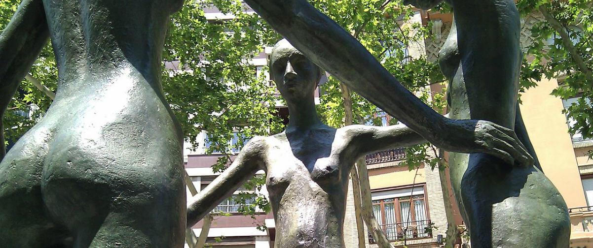 Guía Zaragoza, Escultura Gómez Ascaso
