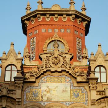 Guía Zaragoza, Palacio Larrinaga
