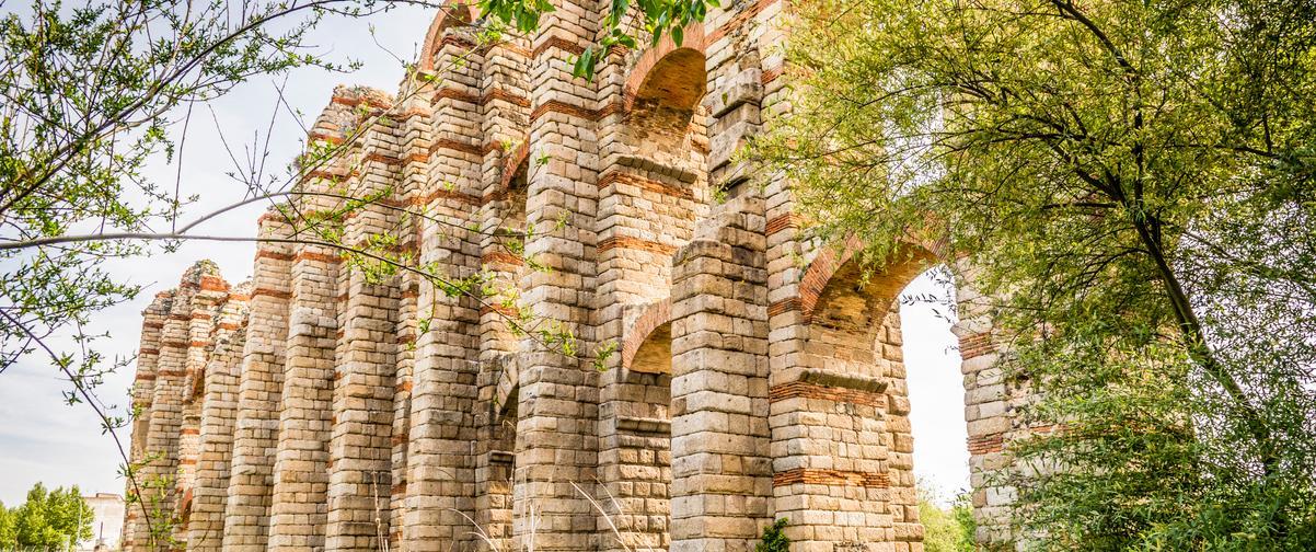 Guía Badajoz, Acueducto Milagros