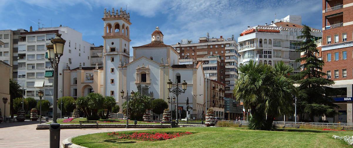 Guía Badajoz, Plaza