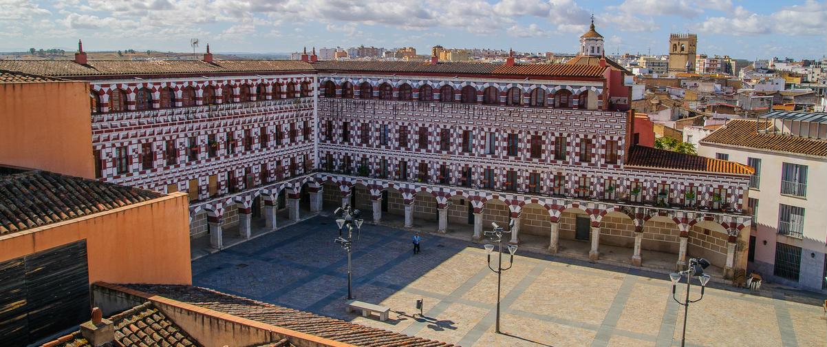 Guía Badajoz, Plaza Alta