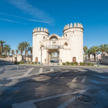 Guía Badajoz, Puerta de Palmas
