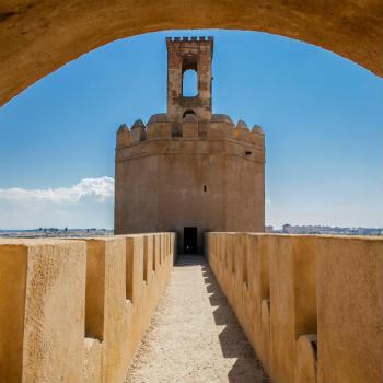 Guía Badajoz, Torre de espantaperros