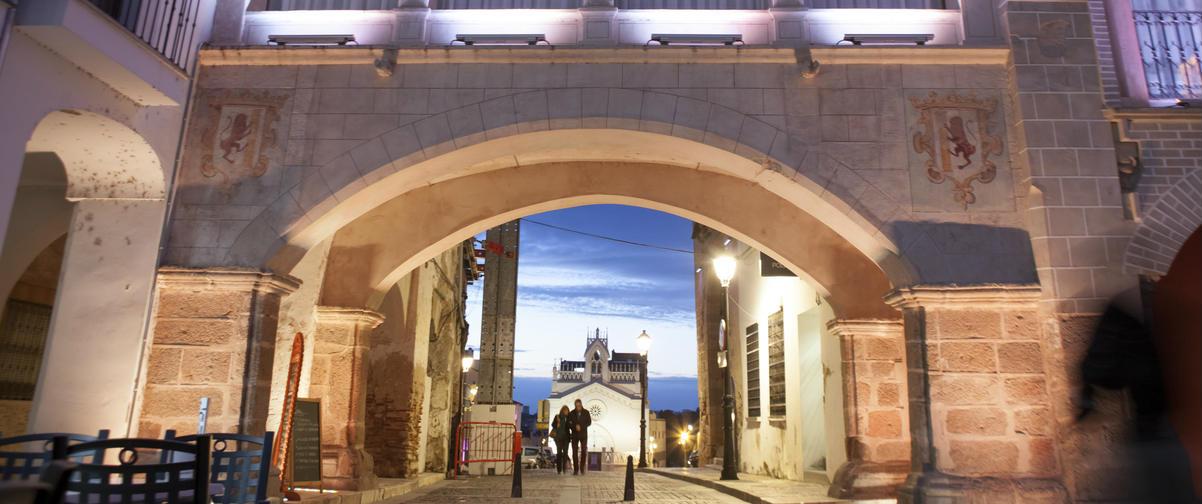 Guía Badajoz, Vista nocturna