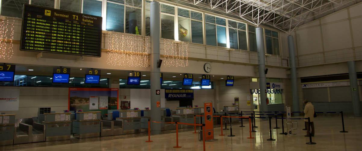 Guía Gijón, Aeropuerto de Gijón