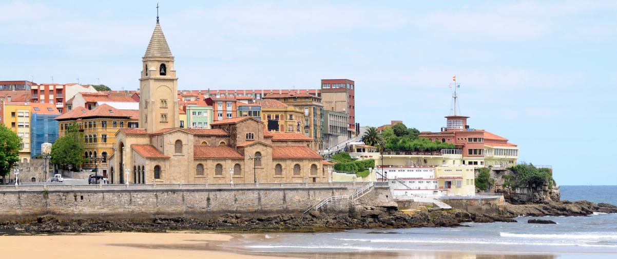 Guía Gijón, Playa San Lorenzo
