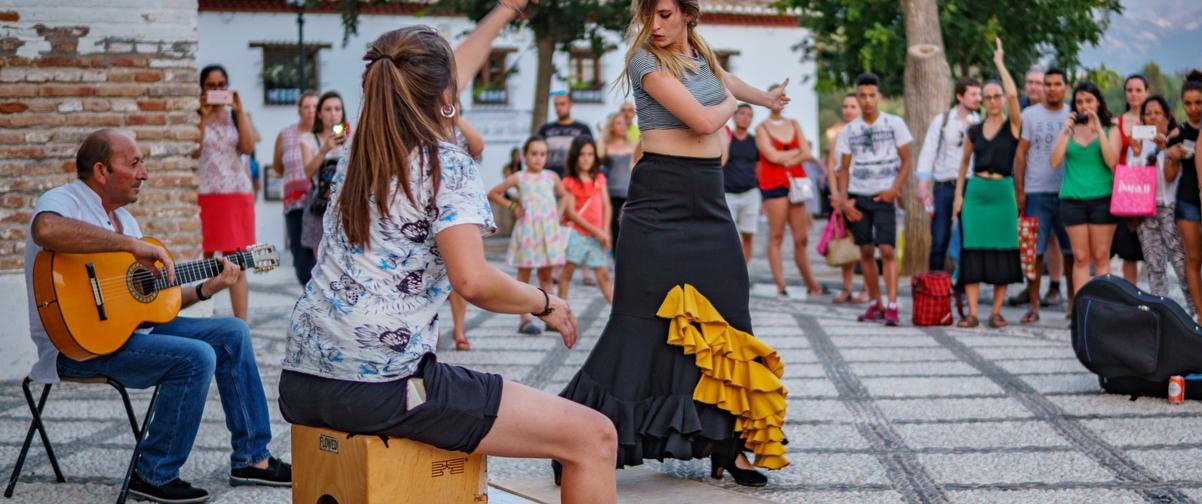 Guía Granada, Baile flamenco
