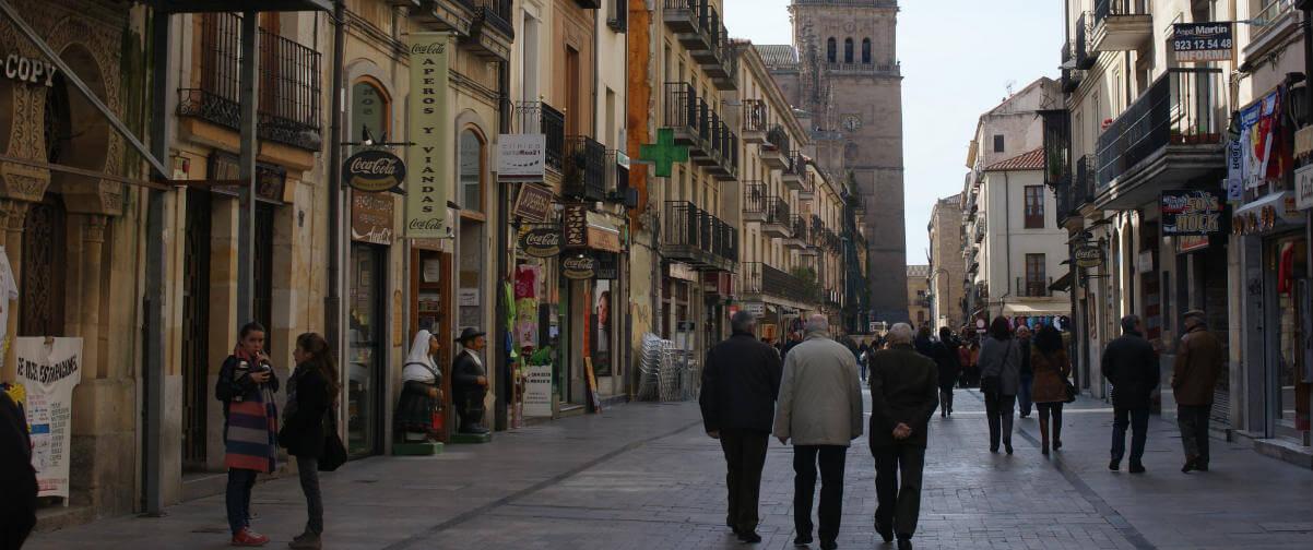 Guía Salamanca, Calle Rúa Mayor