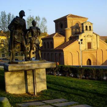 Guía Salamanca, Estatua Lazarillo de Tormes