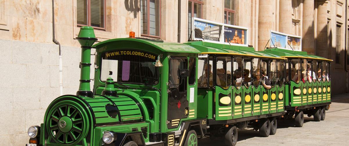 Guía Salamanca, Tren turístico