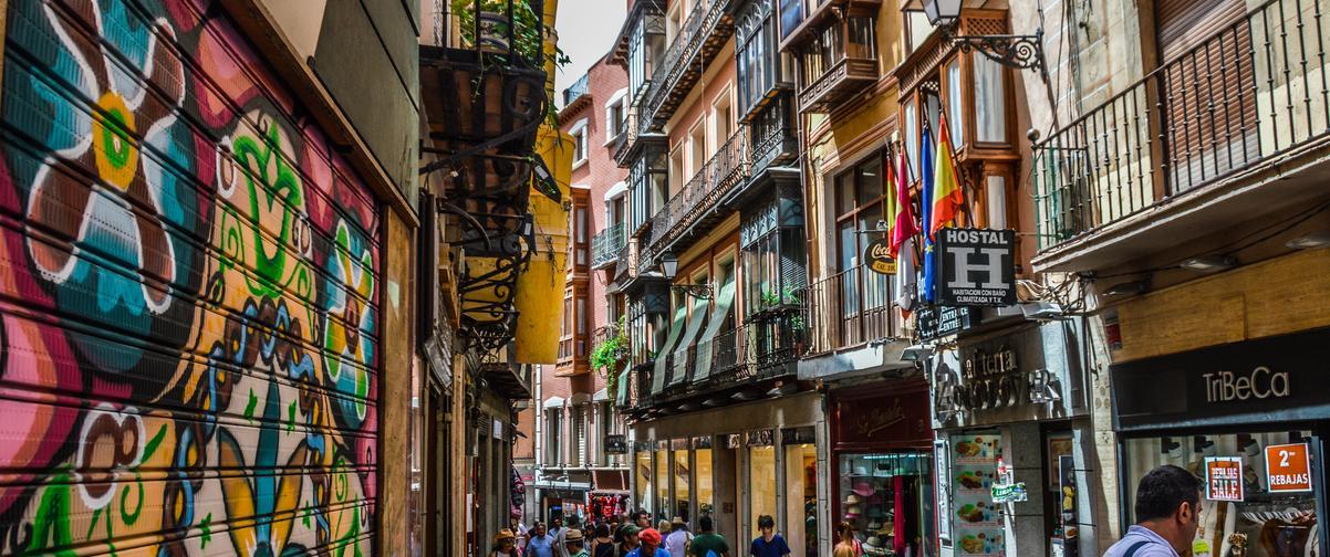 Guía Toledo, Calle del casco antiguo