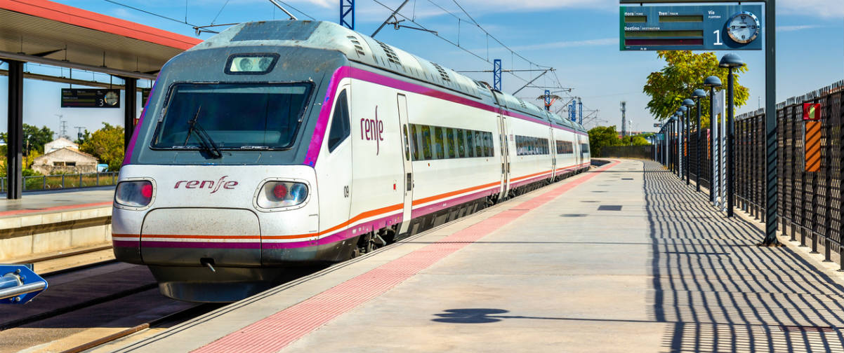 Guía Toledo, Tren