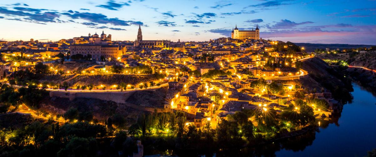 Guía Toledo, Vista nocturna