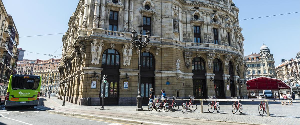 Guía Bilbao, Alquiler bicicletas