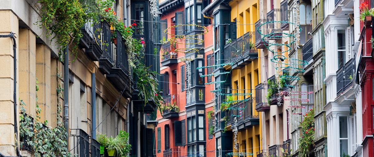 Guía Bilbao, Casco viejo
