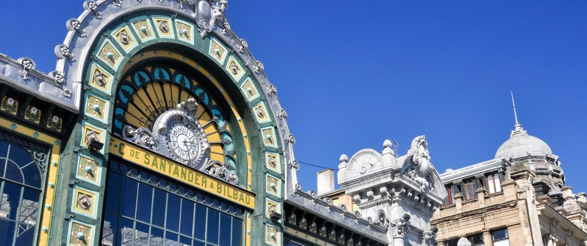 Guía Bilbao, Estación de Abando