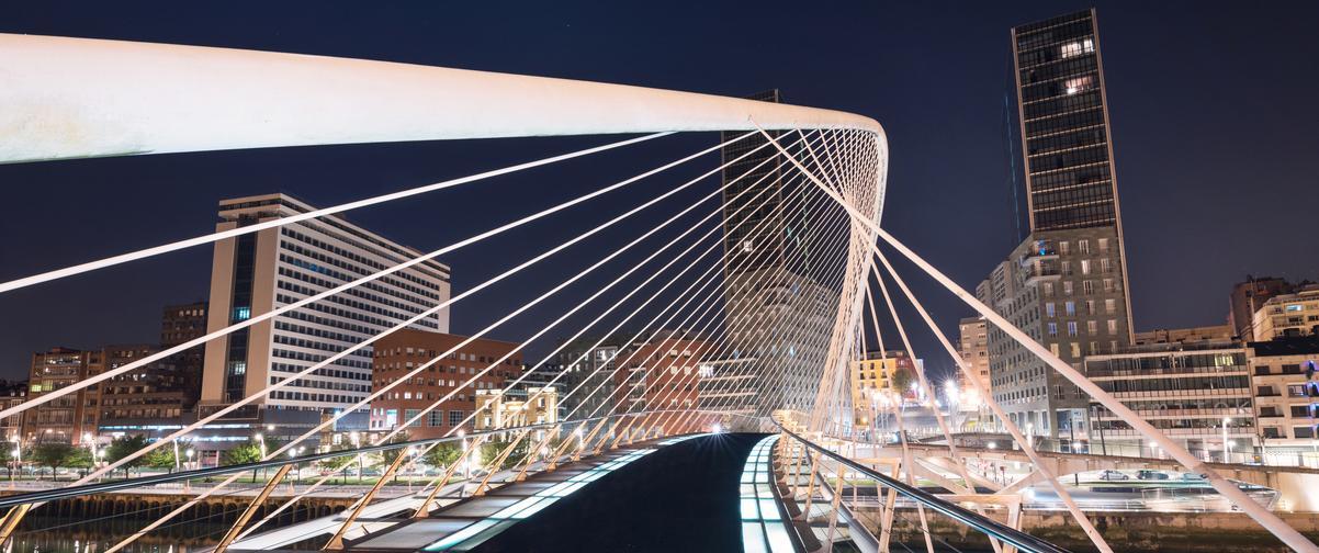 Guía Bilbao, Paisaje nocturno